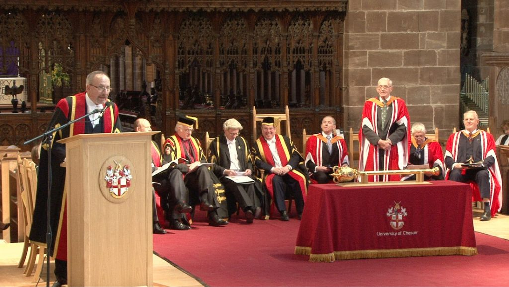 A New Doctor in our Midst - North Wales Freemasons - Mossley Lodge - Honorary Doctorate