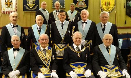 Golden Days at Mossley Lodge - A Triple Celebration - North Wales Freemasons - 50th anniversary